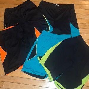 5 Basketball Shorts Sports Fila Nike Blue black LG